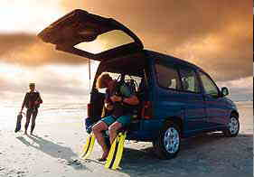 Berlingo for diving support